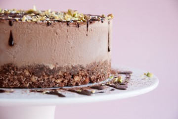 Photograph of Vegan No Bake Chocolate Cheesecake baked by Jane.