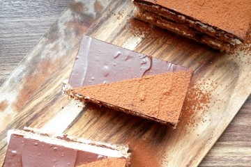Photograph of Chocolate Liegeois baked by Jane.