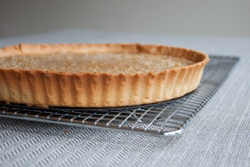 Photograph of Treacle Tart baked by Jane.