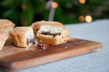 Photograph of Luxury Mince Pies baked by Jane.
