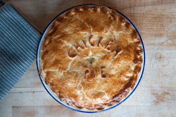 Photograph of British Pie Week baked by Jane.