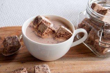 Photograph of Mocha Marshmallows baked by Jane.